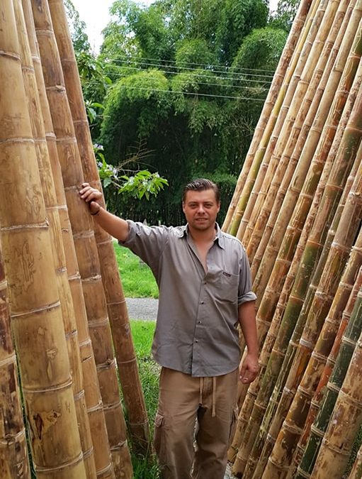 Building with bamboo is not cheap
